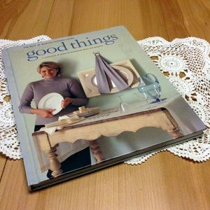 Martha Stewart good things hardback